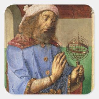 クラウディオス・プトレマイオス、c.1475のポートレート スクエアシール
