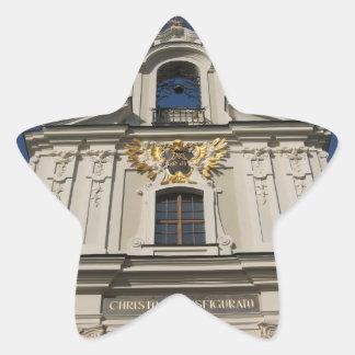 クラクフの星のステッカー 星シール