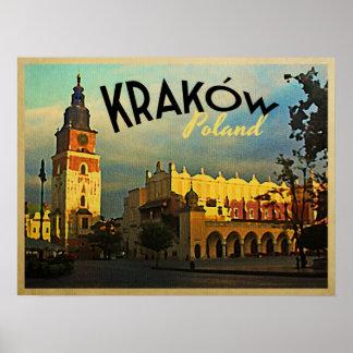 クラクフポーランド ポスター