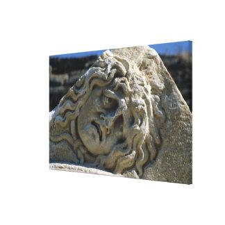 クラゲの頭部 キャンバスプリント