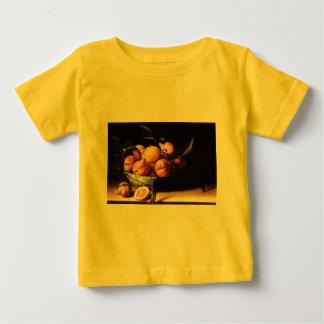 クラサオ島のオレンジ(1634年)のルイーズMoillonボール ベビーTシャツ