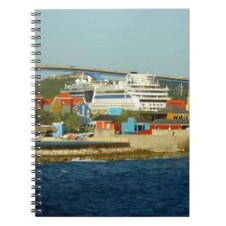 クラサオ島の呼出し ノートブック