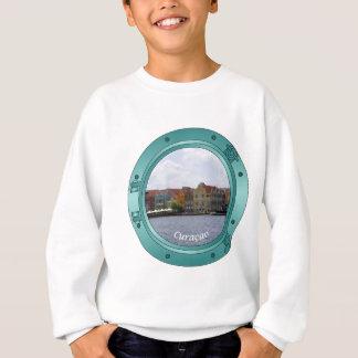 クラサオ島の蒸気口 スウェットシャツ