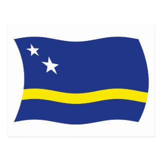 クラサオ島は郵便はがきに印を付けます ポストカード