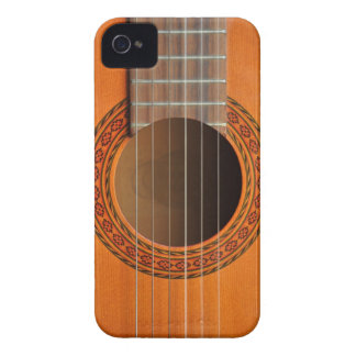 クラシカルなギターのオレンジの日焼け Case-Mate iPhone 4 ケース