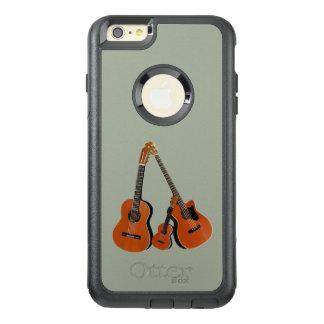 クラシカルなギターの音響の低音およびウクレレ オッターボックスiPhone 6/6S PLUSケース