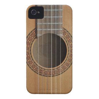 クラシカルなギターベージュ色日焼け Case-Mate iPhone 4 ケース