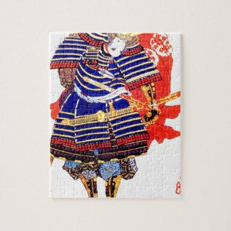 クラシックで日本のな武士の芸術日本 ジグソーパズル