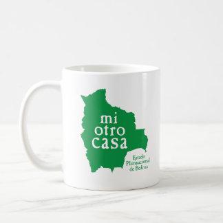 クラシックで白いマグボリビア コーヒーマグカップ