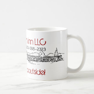 クラシックで白いマグ-冬 コーヒーマグカップ