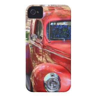 クラシックで赤い車 Case-Mate iPhone 4 ケース