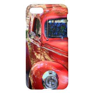 クラシックで赤い車 iPhone 8/7 ケース