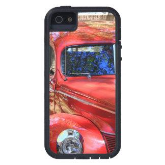 クラシックで赤い車 iPhone SE/5/5s ケース