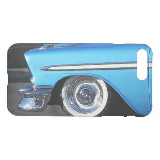 クラシックで青い車のiphone 7の箱 iPhone 8 plus/7 plus ケース