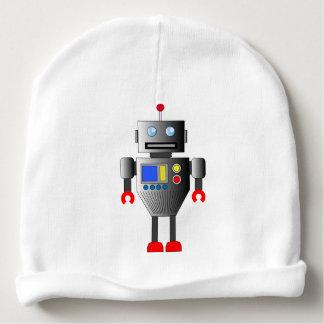 クラシックなおもちゃのロボット赤ん坊の帽子 ベビービーニー
