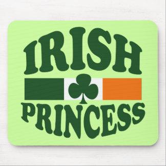 クラシックなアイルランドのプリンセス マウスパッド