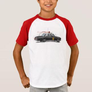 クラシックなアメリカのパトカー Tシャツ