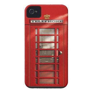 クラシックなイギリスの赤い電話ボックスのiphone 4ケース Case-Mate iPhone 4 ケース