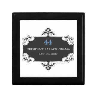 クラシックなオバマ44の記念するギフト用の箱(黒) ギフトボックス