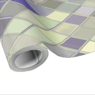 クラシックなガラスタイルのカスタムな包装紙 ラッピングペーパー