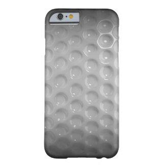 クラシックなゴルフ・ボールの黒く及び白い箱 BARELY THERE iPhone 6 ケース