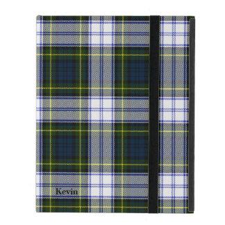 クラシックなゴードンの服のタータンチェック格子縞のiPadの場合 iPad ケース