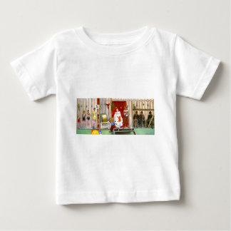 クラシックなサーカス場面 ベビーTシャツ