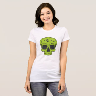クラシックなスカルのデザイン Tシャツ