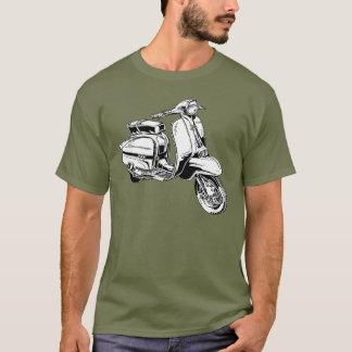 クラシックなスクーターのTシャツ Tシャツ