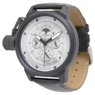 クラシックなステンレス鋼eWatchの工場 腕時計