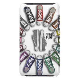 クラシックなスニーカーの円の電話箱 Case-Mate iPod TOUCH ケース