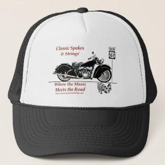 クラシックなスポーク及びひもの帽子 キャップ
