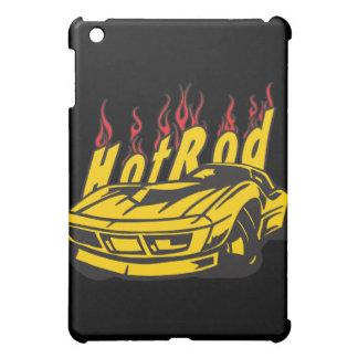 クラシックなスポーツ・カーの炎モーターを改造して下さい iPad MINI カバー