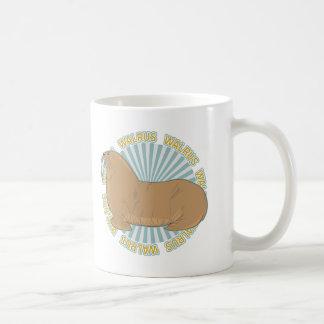 クラシックなセイウチ コーヒーマグカップ