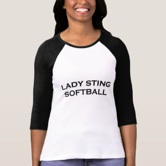 クラシックなソフトボールのティー Tシャツ
