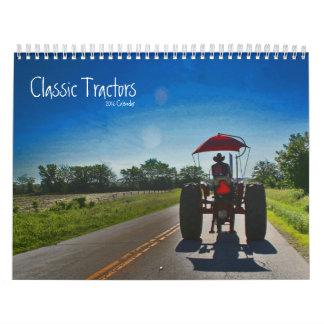 クラシックなトラクターのカレンダー: 年をカスタマイズ カレンダー