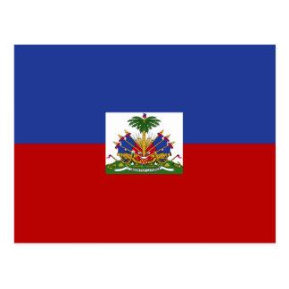 クラシックなハイチの旗 はがき