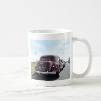 クラシックなバーガンディシトロエン コーヒーマグカップ
