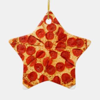 クラシックなピザ恋人 セラミックオーナメント