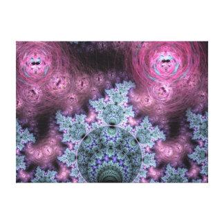 クラシックなフラクタルパターン キャンバスプリント