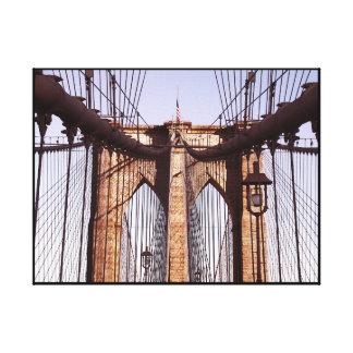 クラシックなブルックリン橋、NYC キャンバスプリント