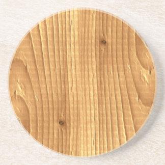 クラシックなマツ未処理木 コースター