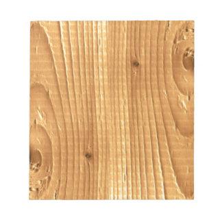 クラシックなマツ未処理木 ノートパッド