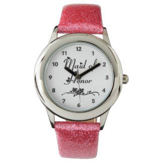 クラシックなメイド・オブ・オーナー(花嫁付き添い人) 腕時計
