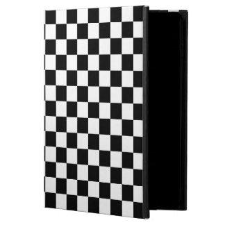 クラシックなモータースポーツの格子縞Chequeredチェック模様の旗 Powis iPad Air 2 ケース