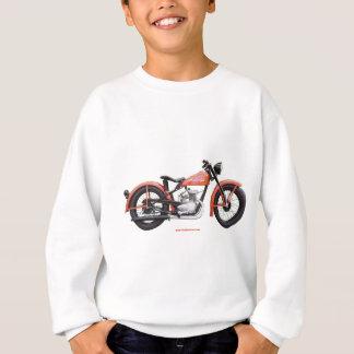 クラシックなモーターバイク125 HD_Texturized スウェットシャツ