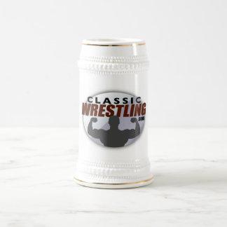 クラシックなレスリングのマグ ビールジョッキ