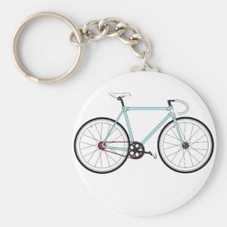 クラシックなレトロの自転車 キーホルダー