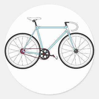 クラシックなレトロの自転車 ラウンドシール