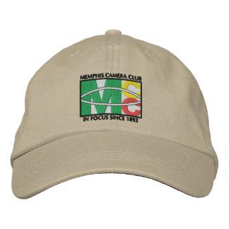 クラシックなロゴによって刺繍される帽子 刺繍入りキャップ